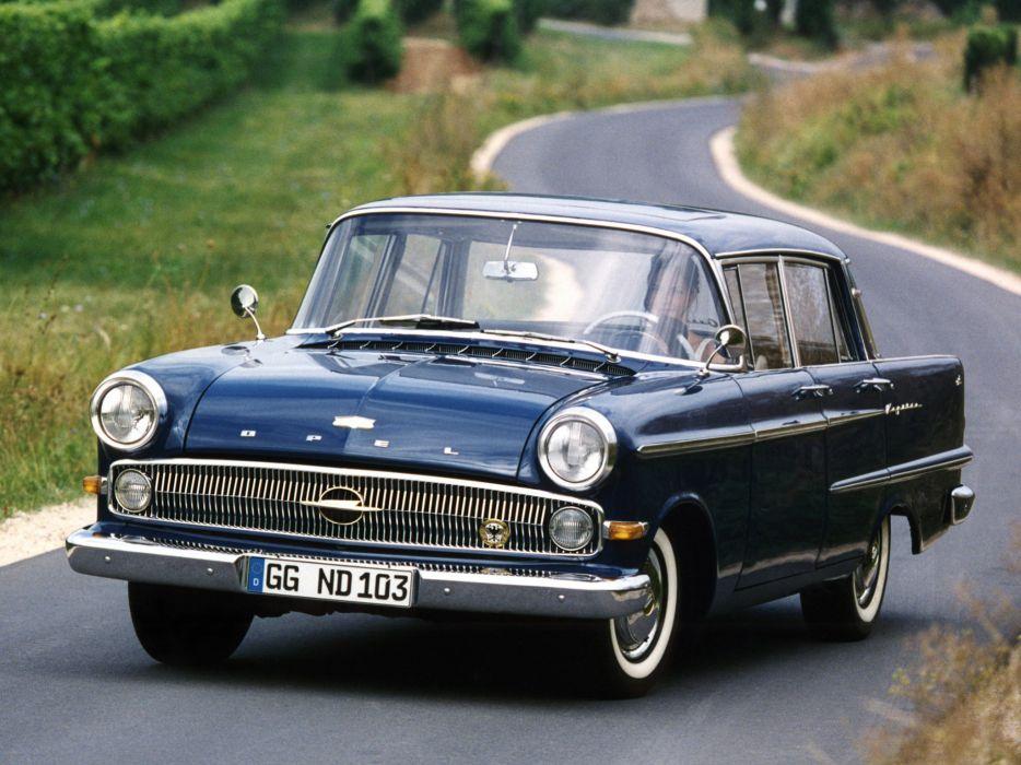 1959-64 Opel Kapitan (P-2) retro classic     g wallpaper