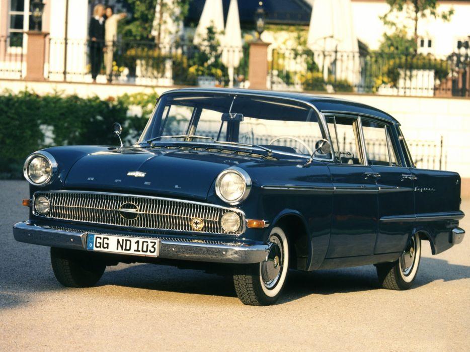 1959-64 Opel Kapitan (P-2) retro classic  gd wallpaper