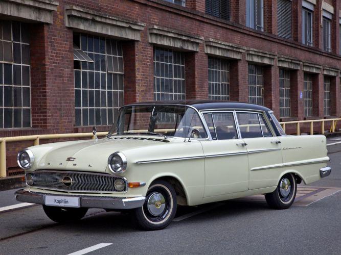 1959-64 Opel Kapitan (P-2) retro classic 4 wallpaper