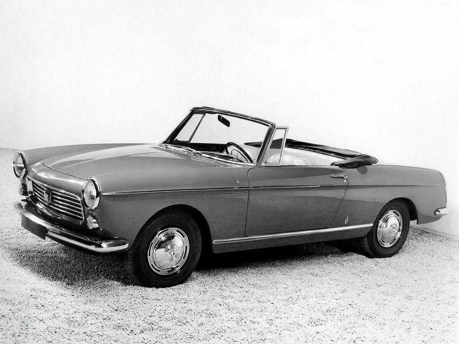 1961 Peugeot 404 Cabriolet classic convertible   g wallpaper