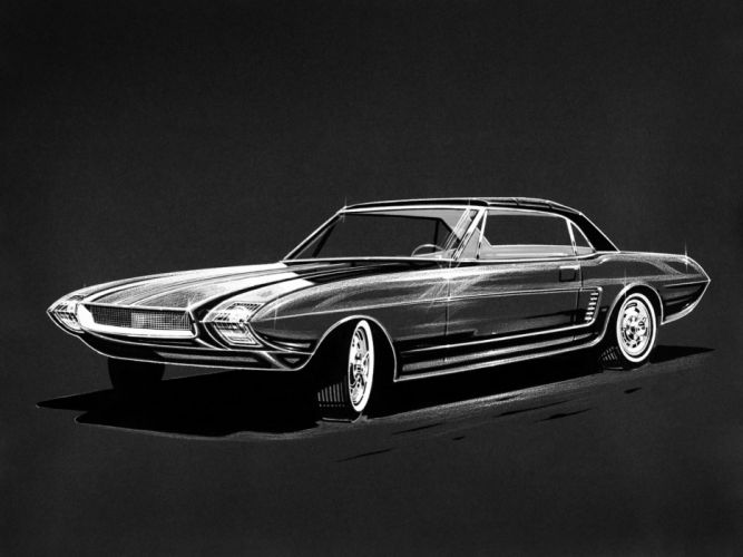 1963 Ford Mustang Concept I-I classic f wallpaper