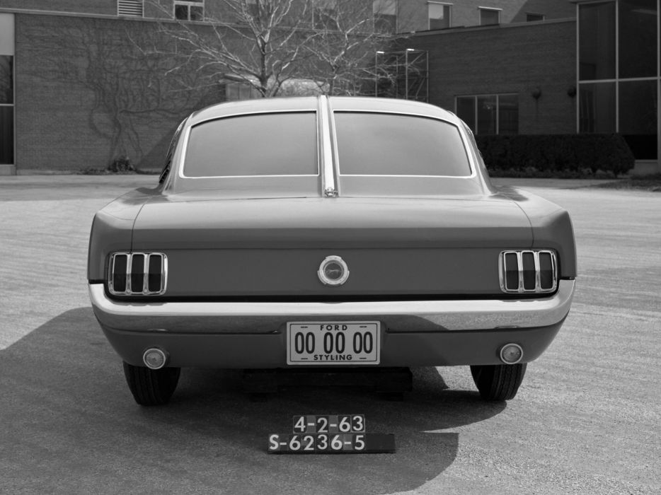 1963 Ford Mustang Cougar Fastback Proposal mercury concept     g wallpaper
