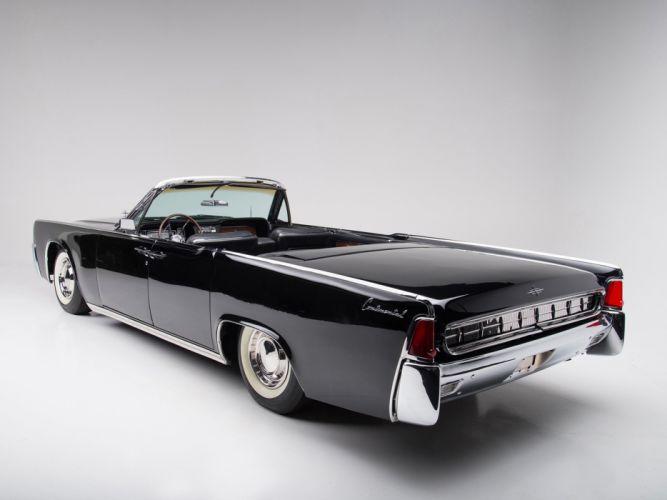 1963 Lincoln Continental Convertible luxury classic f wallpaper