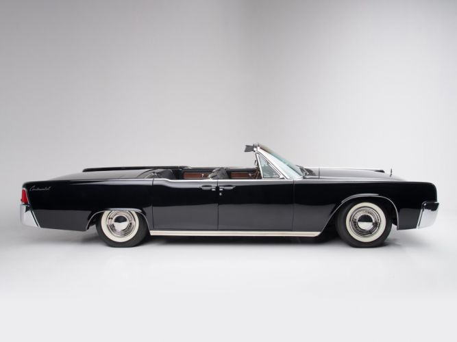 1963 Lincoln Continental Convertible luxury classic g wallpaper