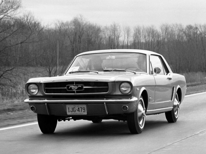 1964 Ford Mustang Coupe g wallpaper