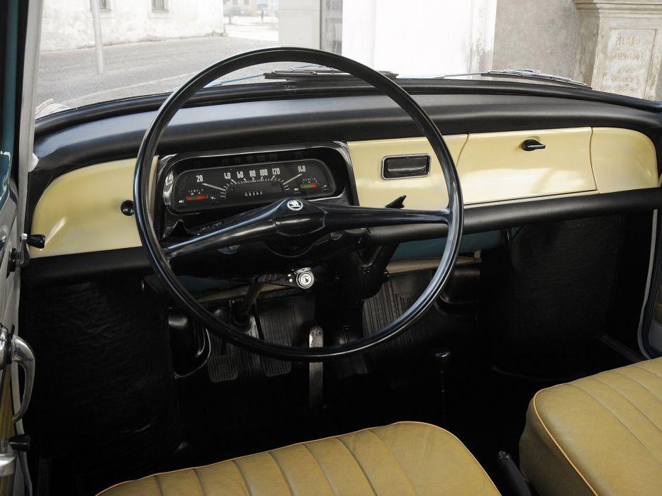 1966 Skoda 1000 M-B (721) classic interior   g wallpaper