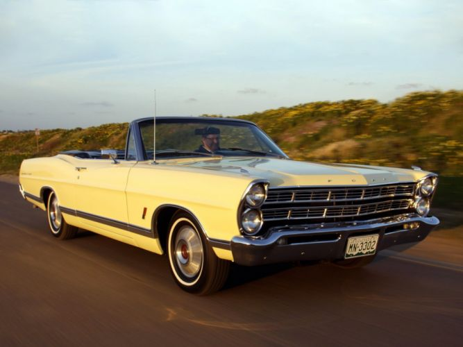 1967 Ford Galaxie 500 X-L Convertible (76B-69) classic g wallpaper
