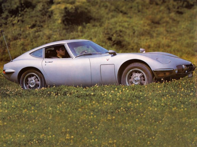 1967-70 Toyota 2000GT JP-spec (MF10) supercar classic g-t j wallpaper