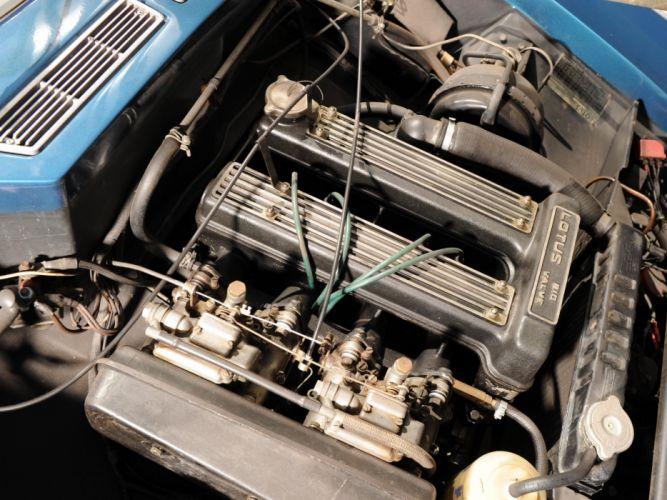 1967-74 Lotus Elan Plus-2 (Type-50) classic supercar engine f wallpaper
