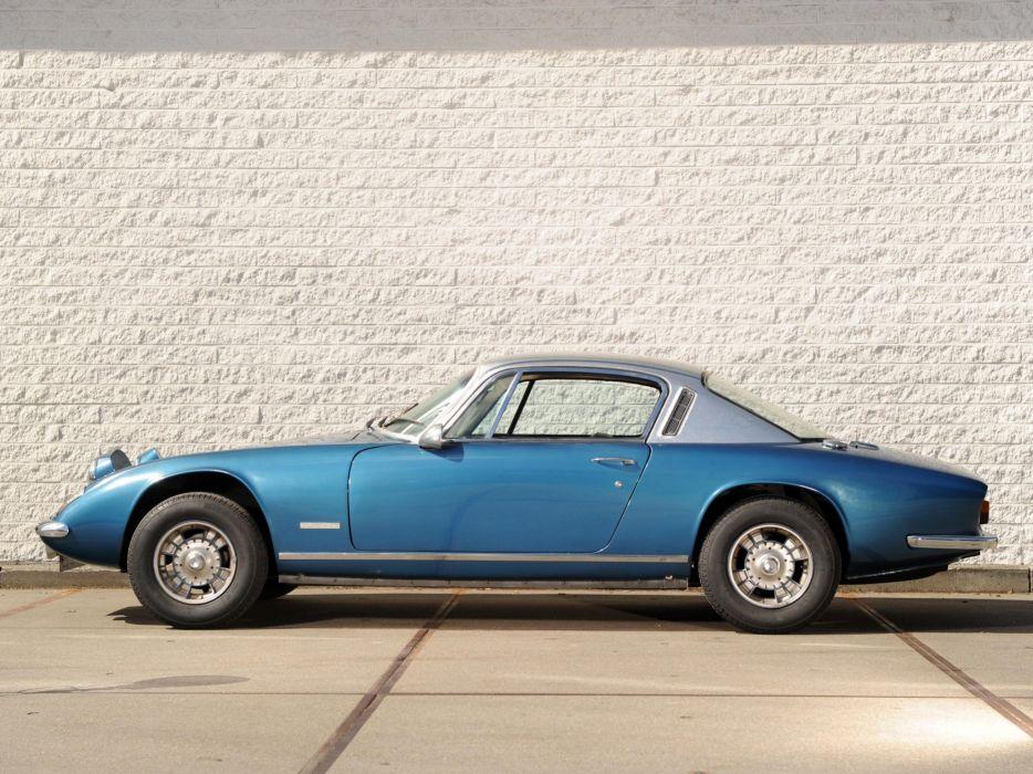 1967-74 Lotus Elan Plus-2 (Type-50) classic supercar  gh wallpaper