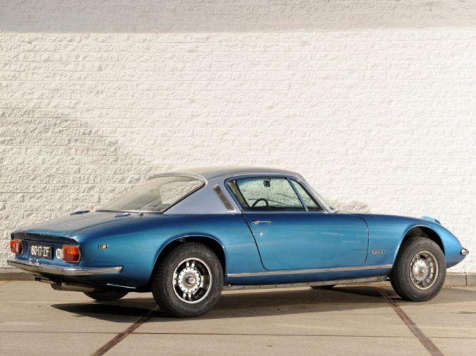 1967-74 Lotus Elan Plus-2 (Type-50) classic supercar f wallpaper