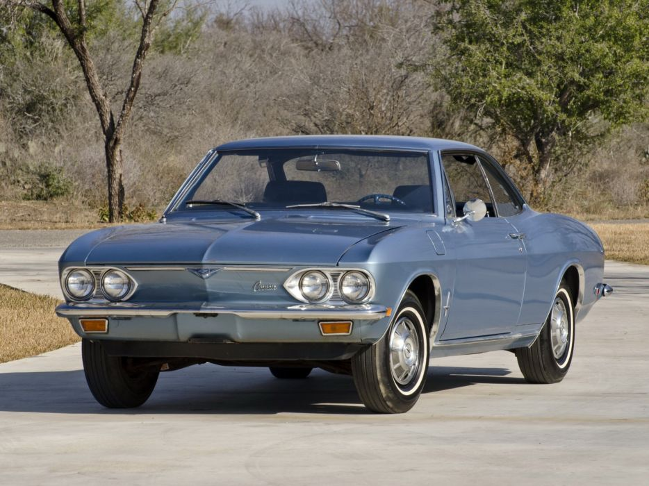 1969 Chevrolet Corvair Monza Sport Coupe (10537) classic    f wallpaper