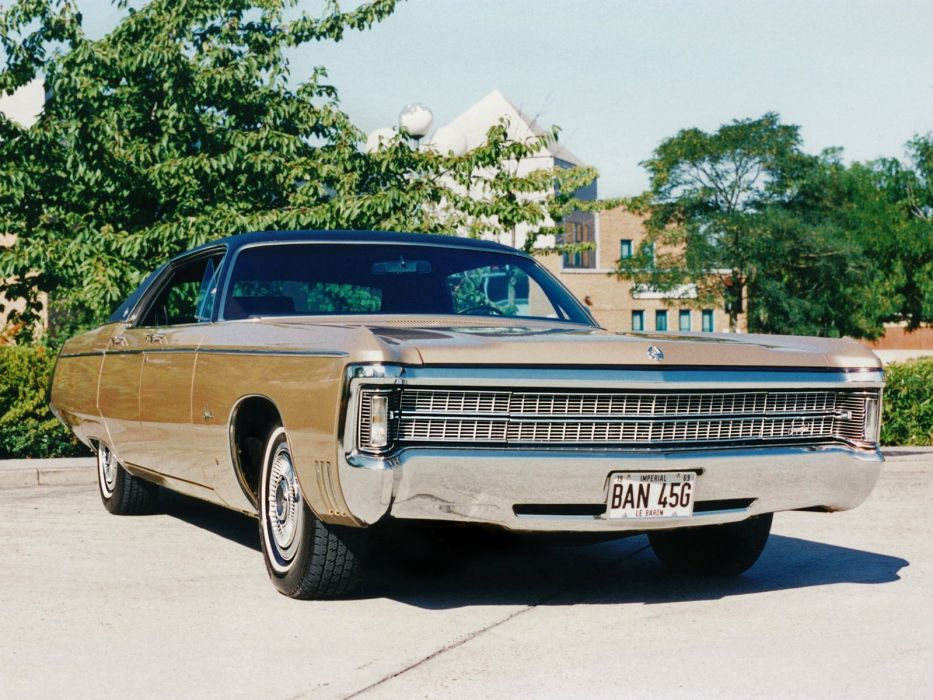 1969 Chrysler Imperial LeBaron 4-door Hardtop (EY-HYM43) classic     f wallpaper