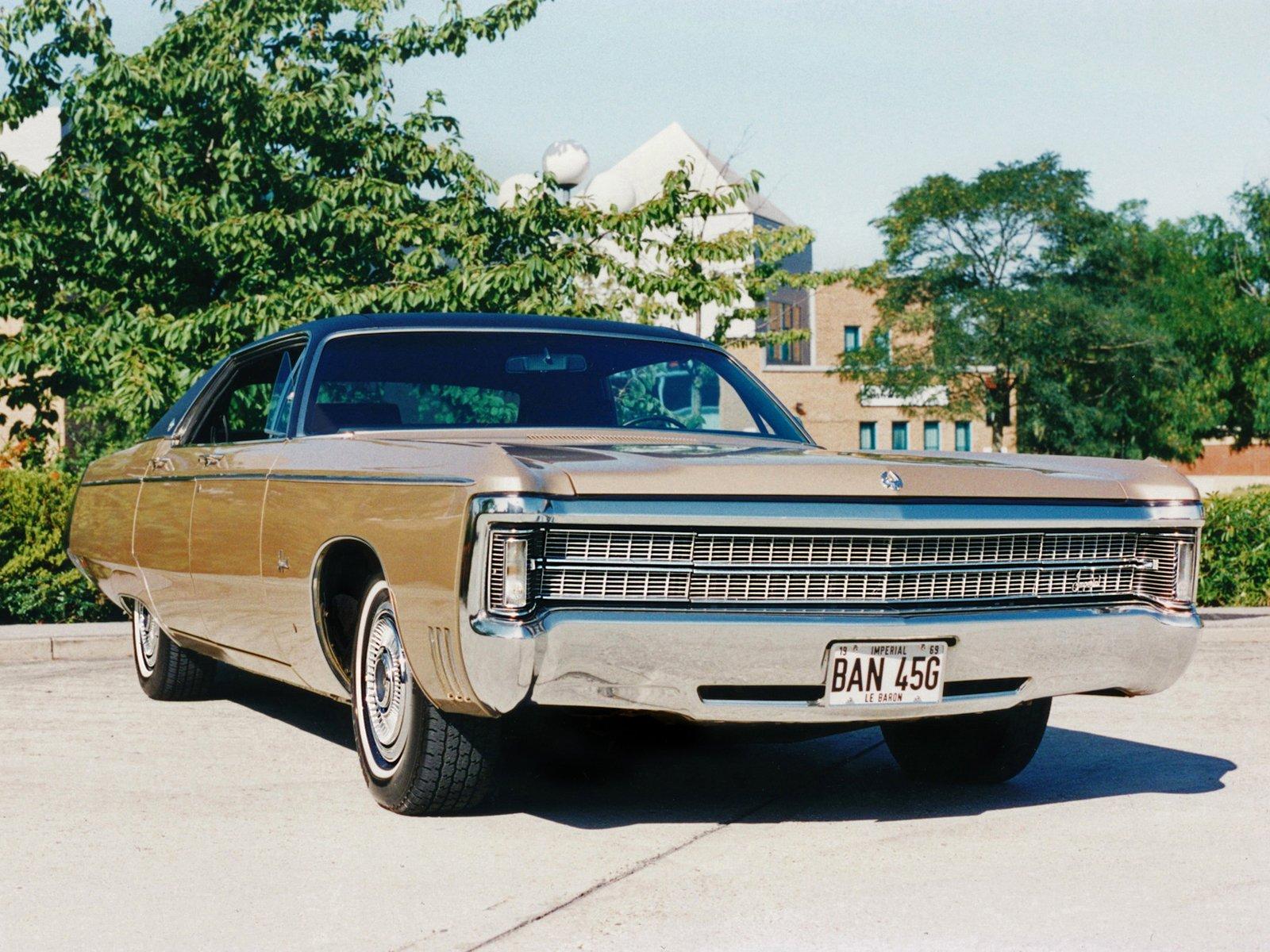 1969 Chrysler Imperial Lebaron 4 Door Hardtop Ey Hym43