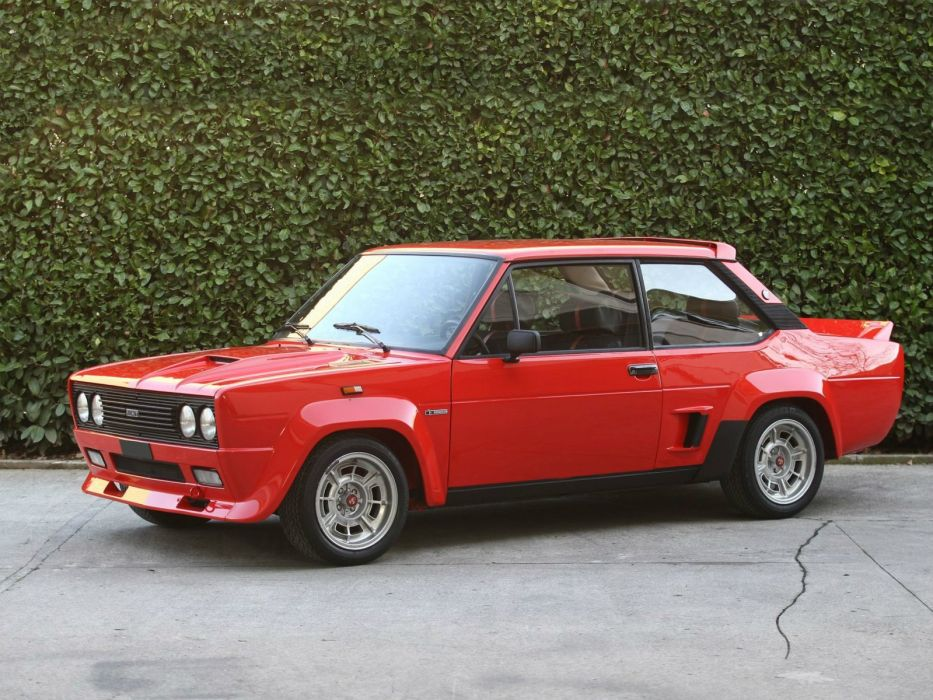 1976-78 Fiat Abarth 131 Rally race racing classic  g wallpaper
