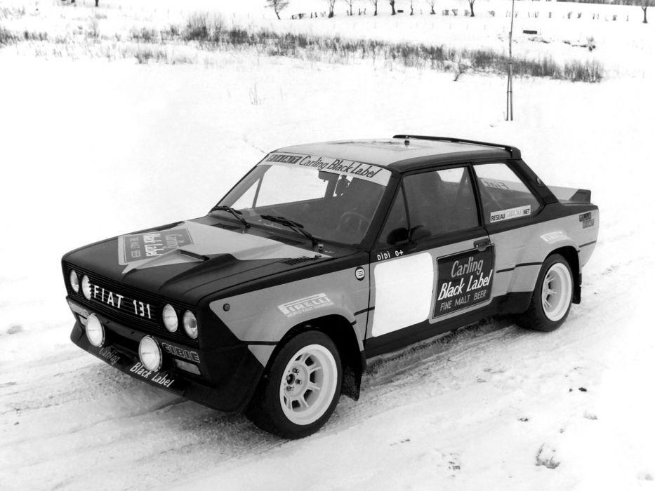 1976-81 Fiat Abarth 131 Rally Corsa race racing classic rt wallpaper
