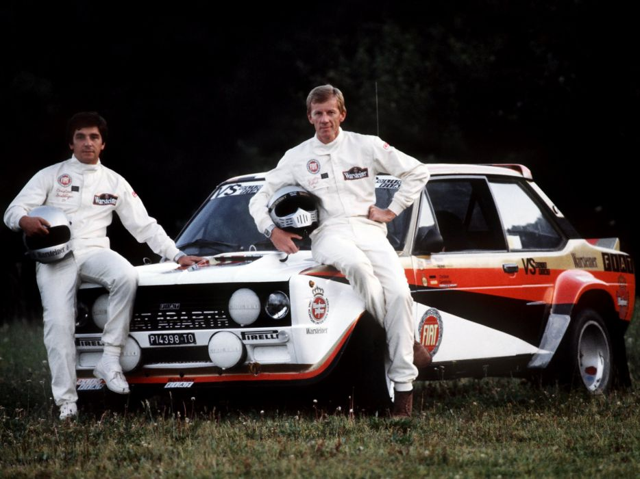 1976-81 Fiat Abarth 131 Rally Corsa race racing classic     g wallpaper