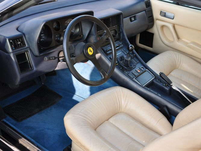 1976-89 Ferrari 400i supercar interior f wallpaper