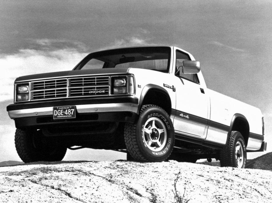 1987 90 Dodge Dakota L E Pickup Wallpaper