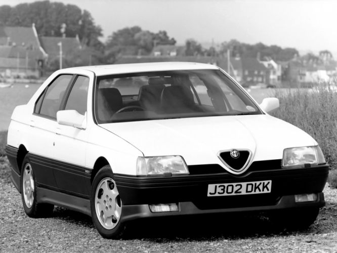 1992 Alfa Romeo 164 Cloverleaf g wallpaper