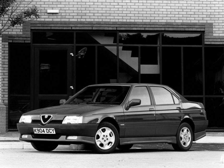 1990 Alfa Romeo 164 Cloverleaf     h wallpaper