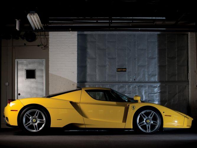 2002-04 Ferrari Enzo US-spec supercar h wallpaper