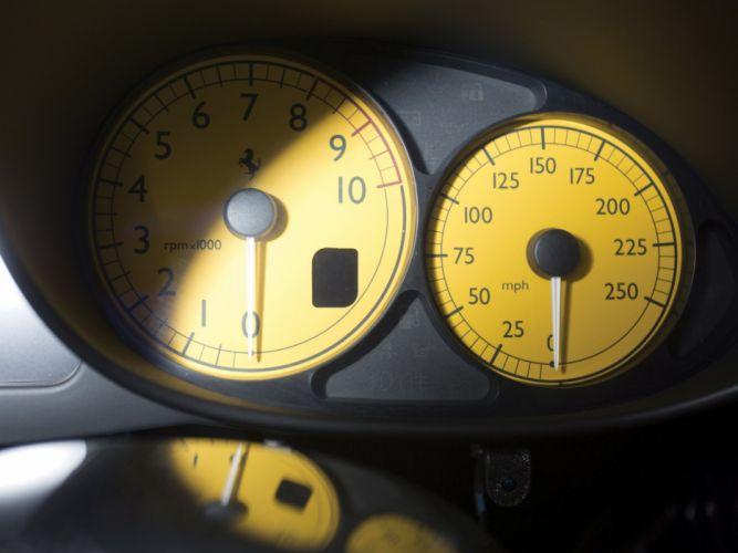 2002-04 Ferrari Enzo US-spec supercar interior t wallpaper