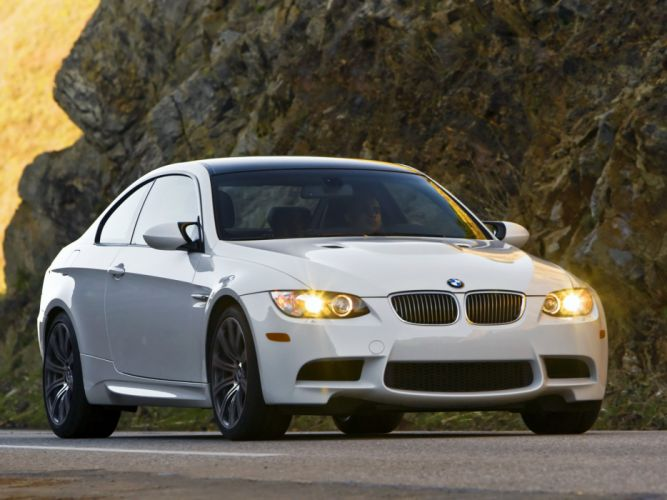 2007-13 BMW M-3 Coupe US-spec (E92 h wallpaper