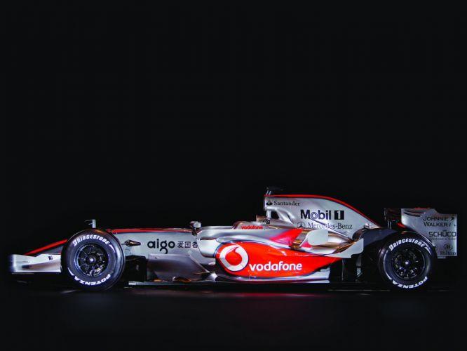 2008 McLaren Mercedes Benz MP4-23 F-1 formula race racing rw wallpaper
