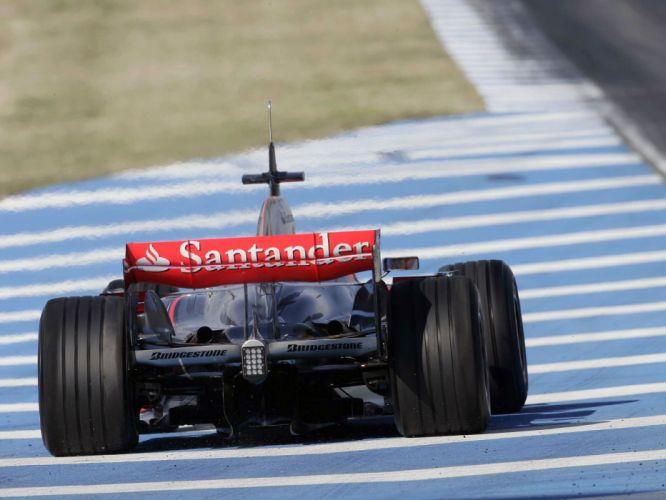 2008 McLaren Mercedes Benz MP4-23 F-1 formula race racing r wallpaper