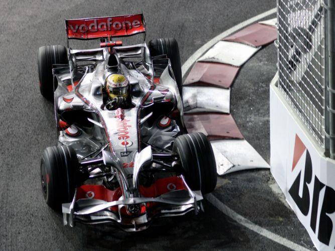 2008 McLaren Mercedes Benz MP4-23 F-1 formula race racing f wallpaper