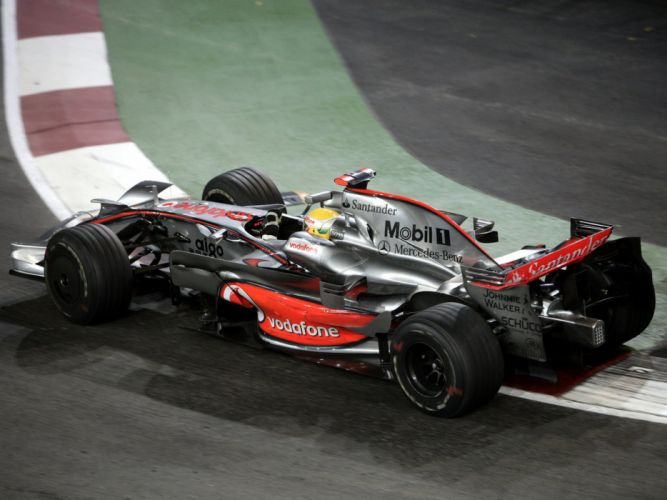 2008 McLaren Mercedes Benz MP4-23 F-1 formula race racing ej wallpaper