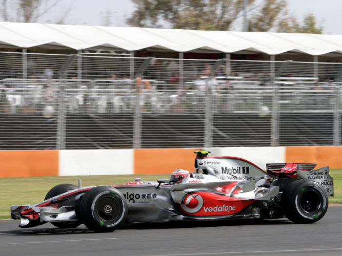 2008 McLaren Mercedes Benz MP4-23 F-1 formula race racing re wallpaper