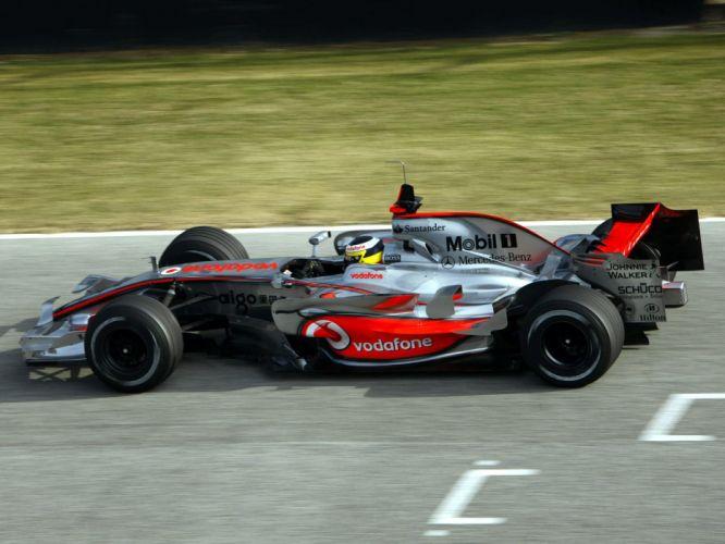 2008 McLaren Mercedes Benz MP4-23 F-1 formula race racing e wallpaper