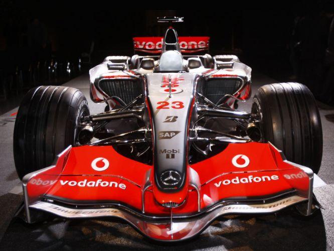 2008 McLaren Mercedes Benz MP4-23 F-1 formula race racing g wallpaper
