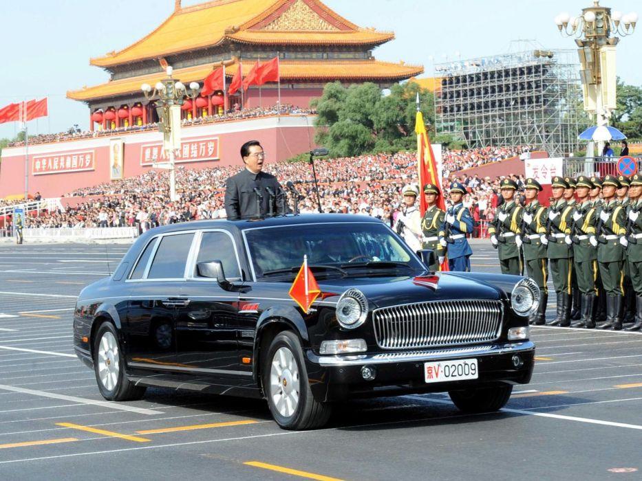 2009 Hongqi CA7600J Limousine luxury     g wallpaper