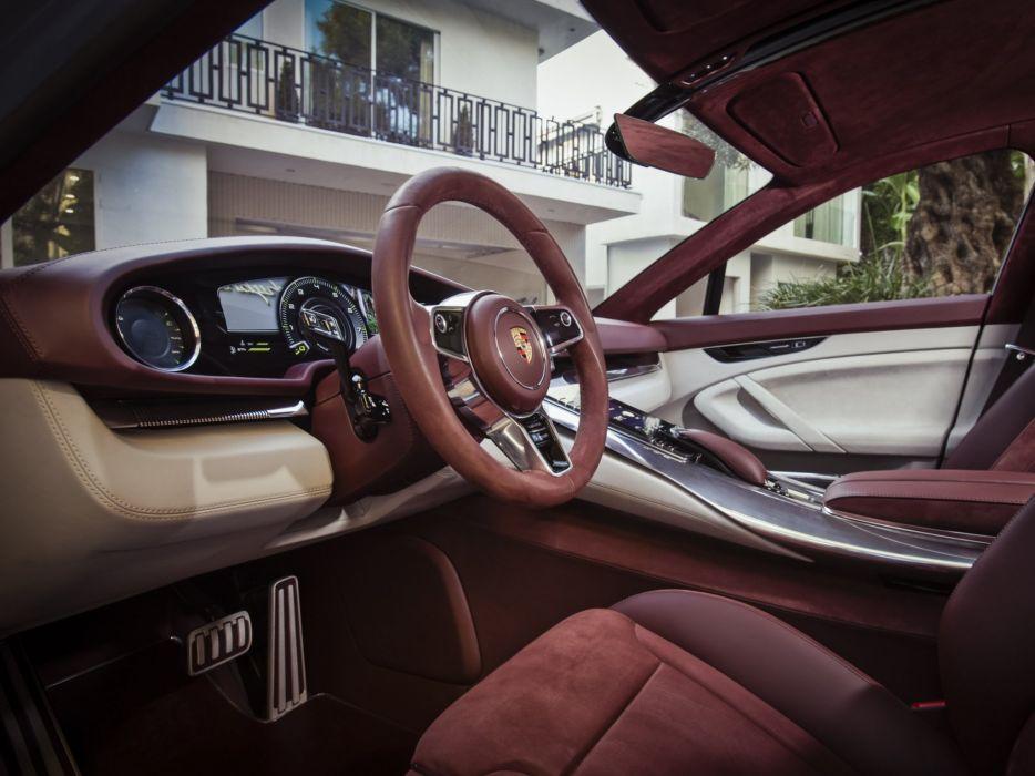 2012 Porsche Panamera Sport Turismo Concept interior    g wallpaper