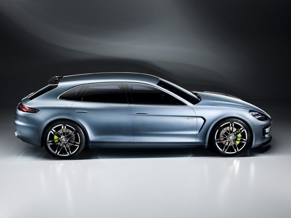 2012 Porsche Panamera Sport Turismo Concept  t wallpaper