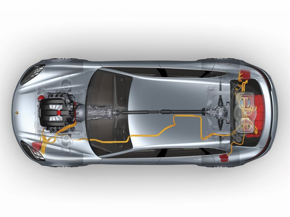 2012 Porsche Panamera Sport Turismo Concept engine     g wallpaper