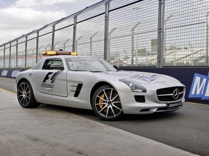 2013 Mercedes Benz SLS 6-3 AMG G-T F-1 Safety (C197) formula supercar f wallpaper