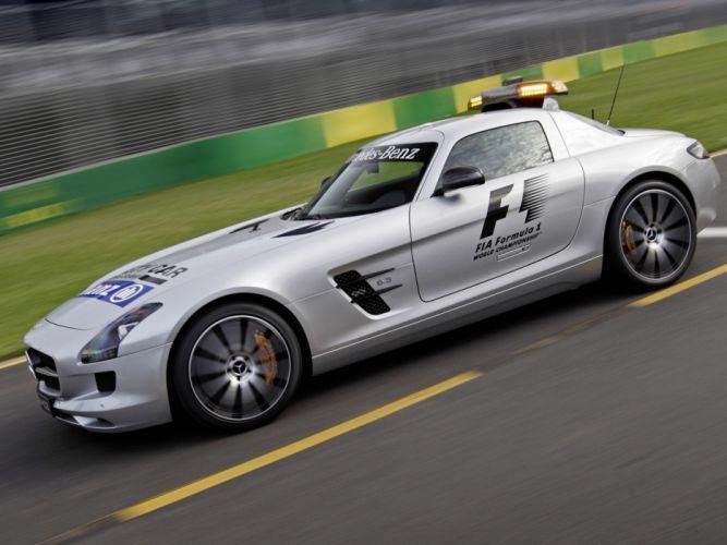 2013 Mercedes Benz SLS 6-3 AMG G-T F-1 Safety (C197) formula supercar g wallpaper
