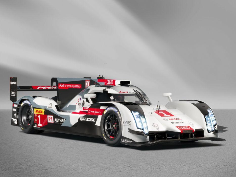 2014 Audi R18 e-Tron quattro le-mans race racing  fs wallpaper