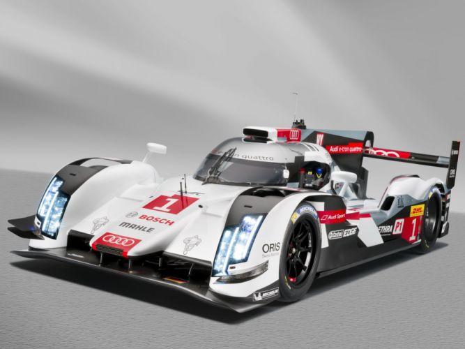 2014 Audi R18 e-Tron quattro le-mans race racing rw wallpaper