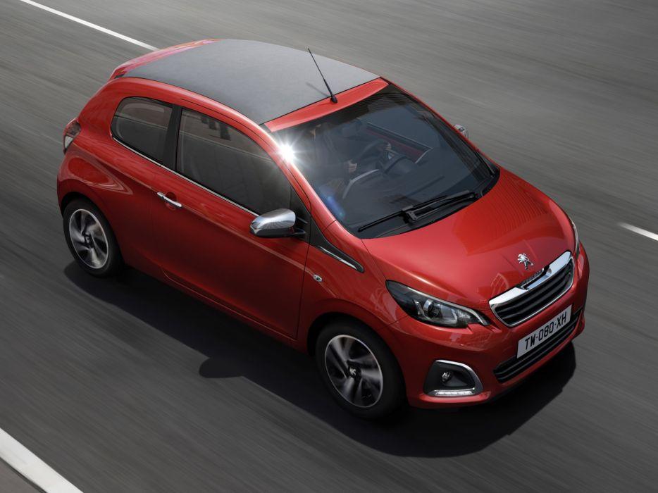 2014 Peugeot 108 TOP 3-door  f wallpaper