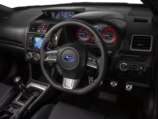 2014 Subaru WRX AU-spec interior g wallpaper