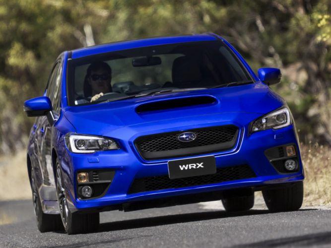 2014 Subaru WRX AU-spec ew wallpaper