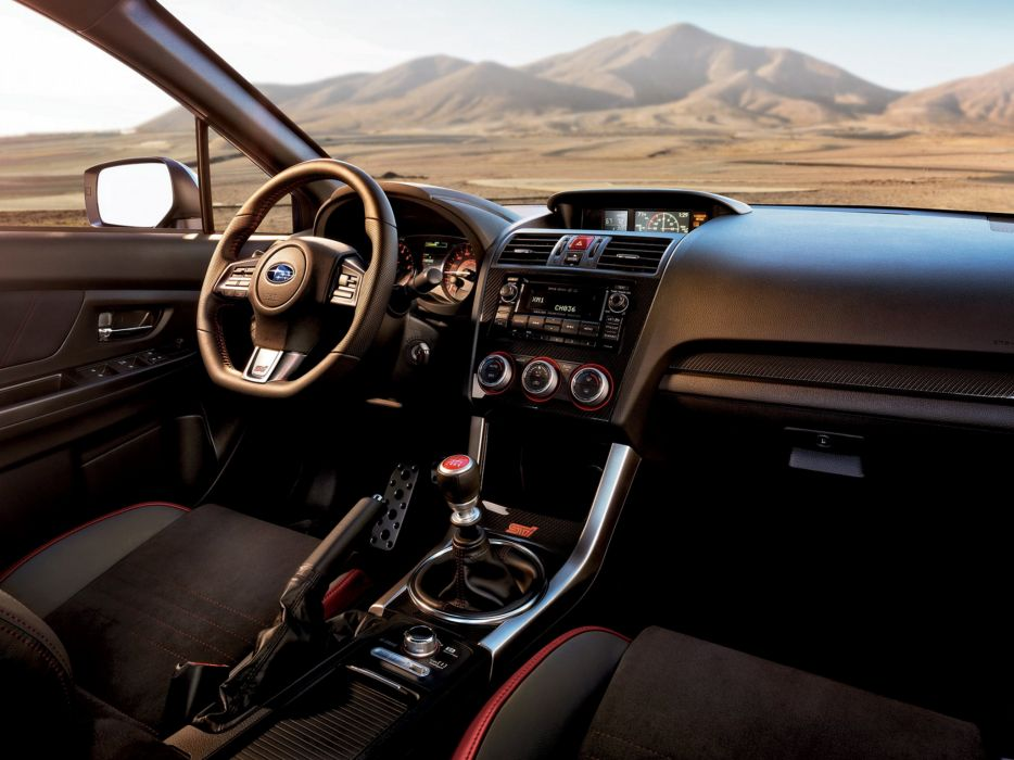 2014 Subaru WRX STI US-spec interior    f wallpaper