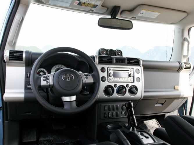 2014 Toyota F-J Cruiser Trail-Teams-Ultimate (GSJ15W) suv 4x4 interior g wallpaper