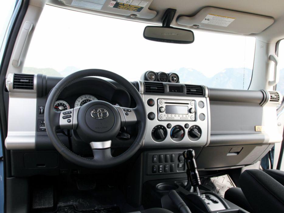 2014 Toyota F J Cruiser Trail Teams Ultimate (GSJ15W) Suv 4x4 Interior G