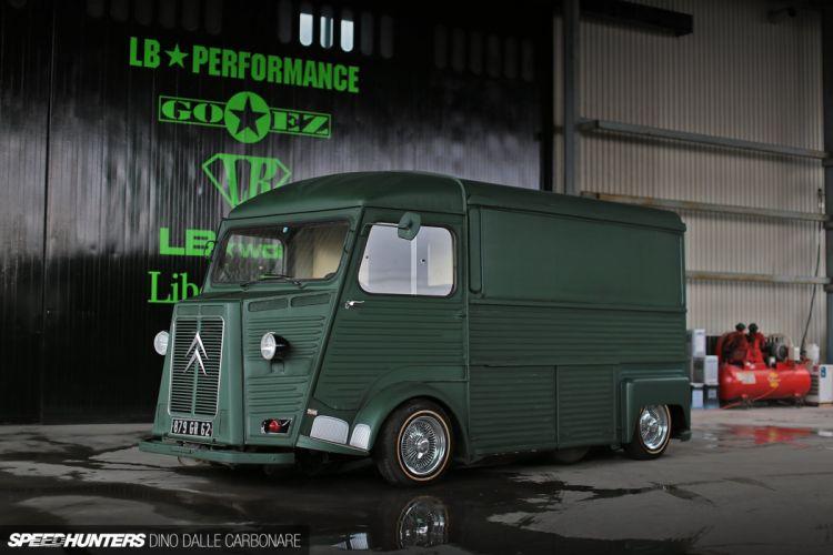 Citroen H Van transport retro custom lowrider tuning g wallpaper